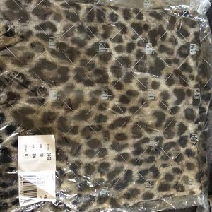 cabi leopard print skirt.  new.